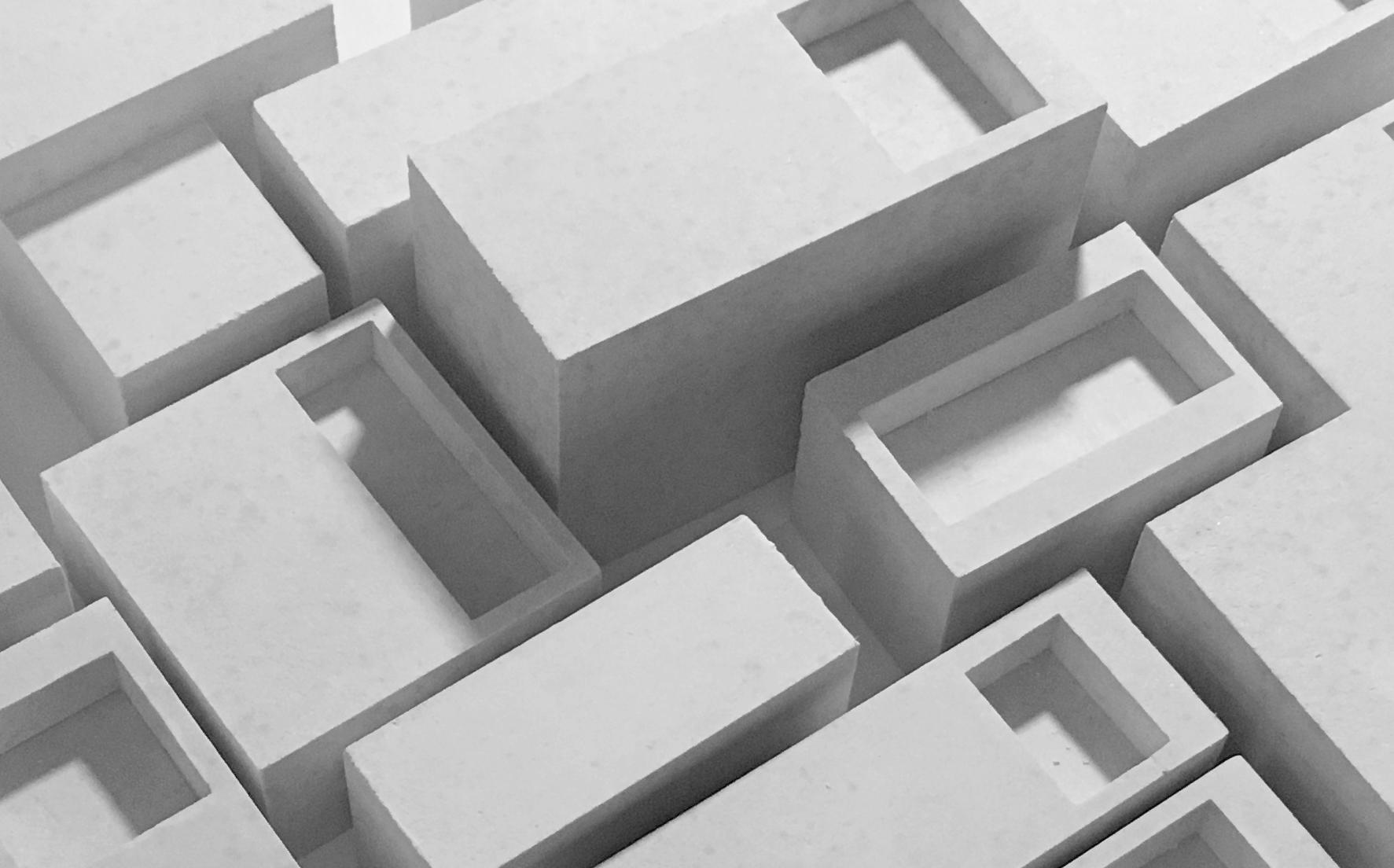 Architectural bureau wall